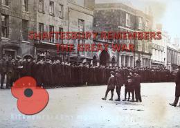 Shaftesbury Remembers Blog