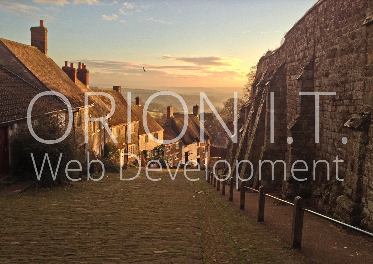 Orion Web Development Blog Entry