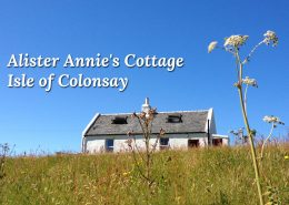 Alister Annies Cottage - Colonsay Scotland