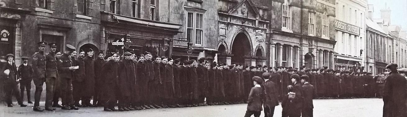 Banner - Kitcheners Army Shaftesbury