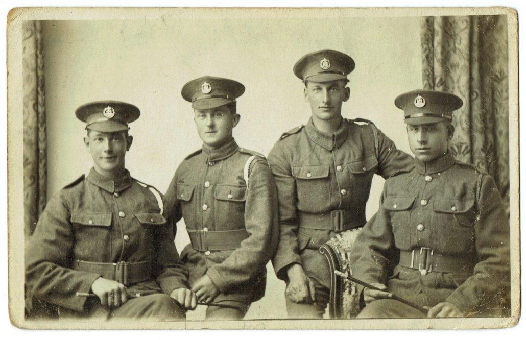 Dorset Regiment Alwin Gibbs