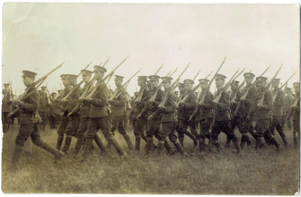 Dorset Regiment territorials