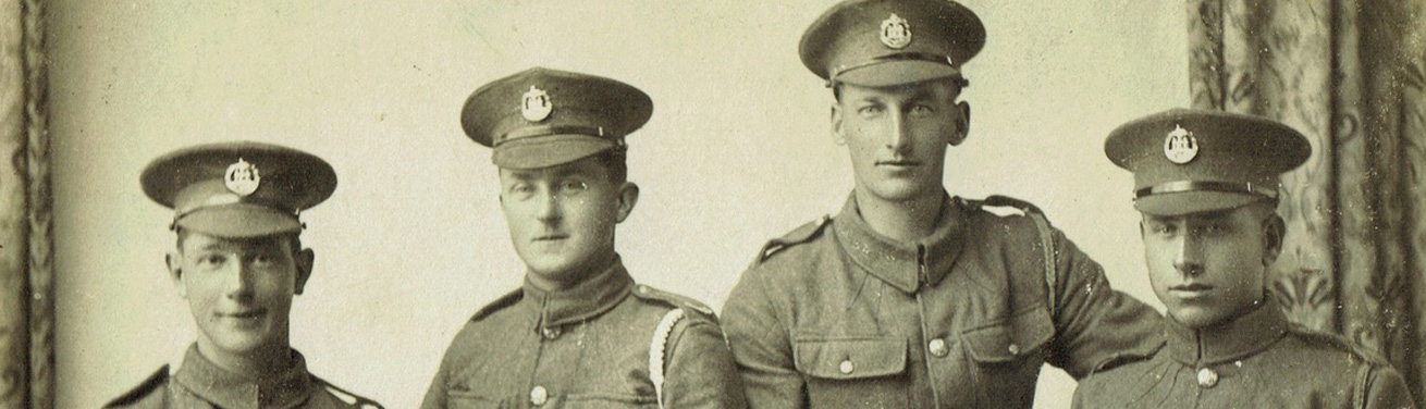 Shaftesbury Remembers Banner - Dorset Regiment 2