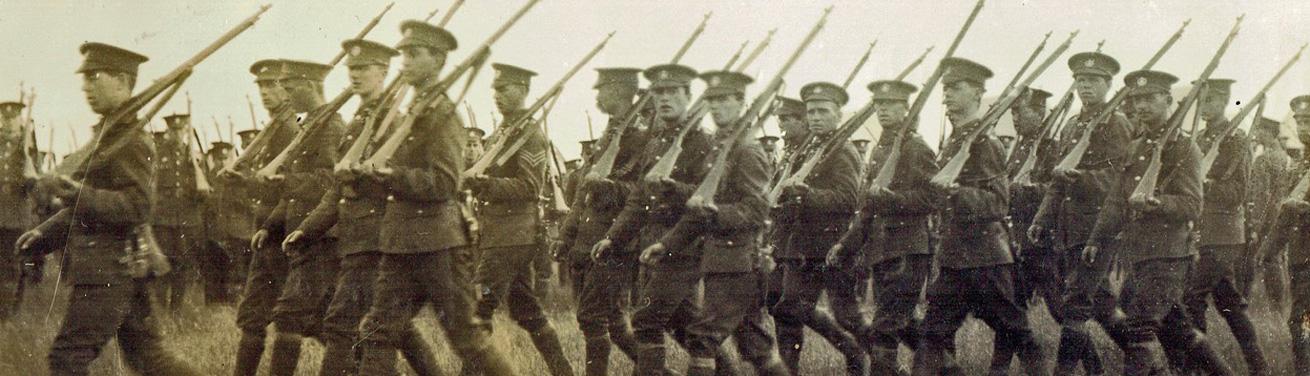 Shaftesbury Remembers Banner - Dorset Regiment 3