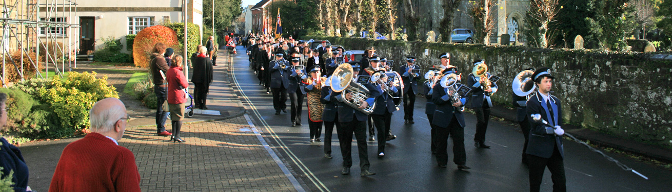 Shaftesbury Remembers Banner - Shaftesbury Remembrance Sunday 2016