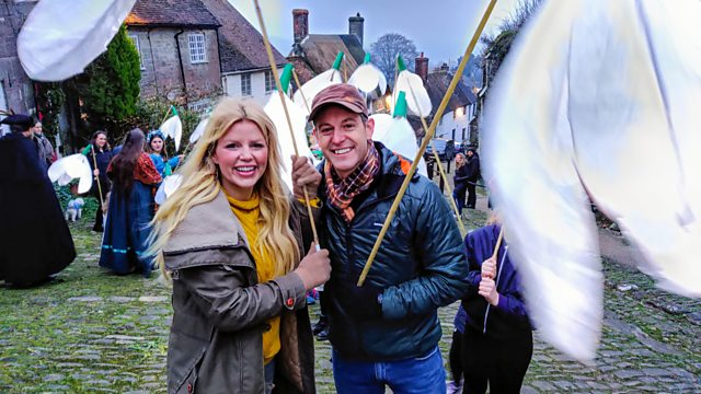 BBC Countryfile in Shaftesbury